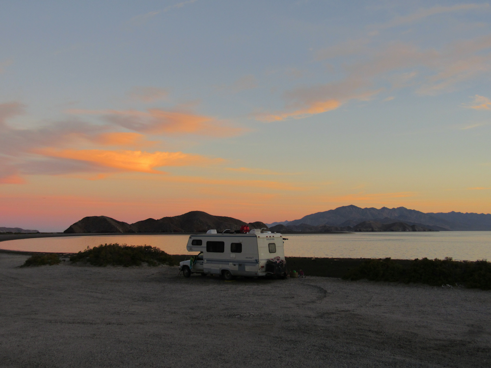 baja-beach-camping-sunset