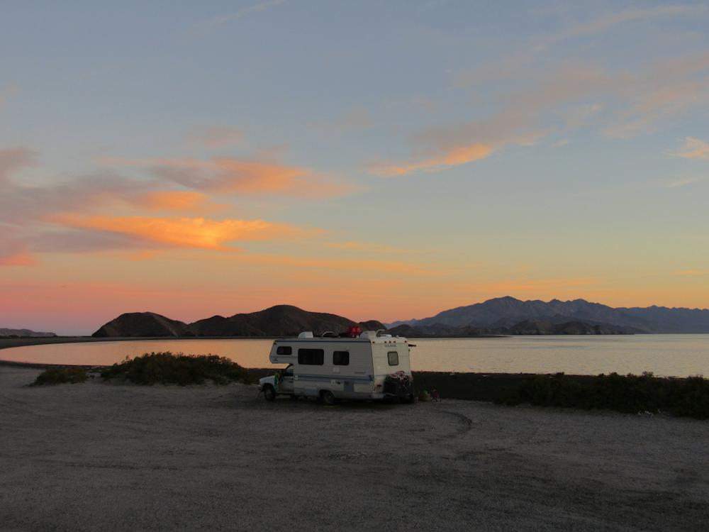 baja-beach-camping-sunset