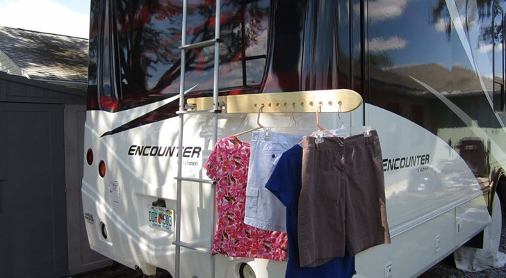 These Laundry Storage Solutions Will Save Space In Your RV