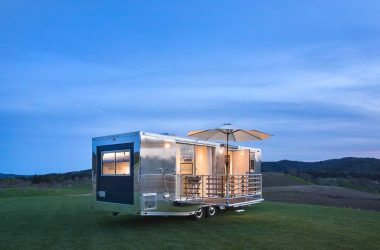 Get A Look Inside The Dreamiest New Travel Trailer
