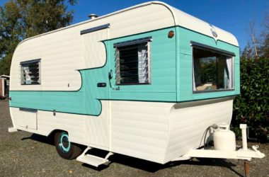 See Inside This Restored 1959 Oasis Travel Trailer