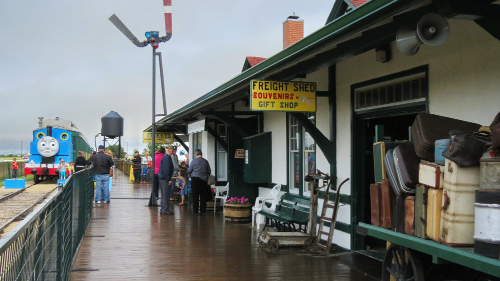 Prairie Dog Central Railway courtesy of Linsdell, Flickr