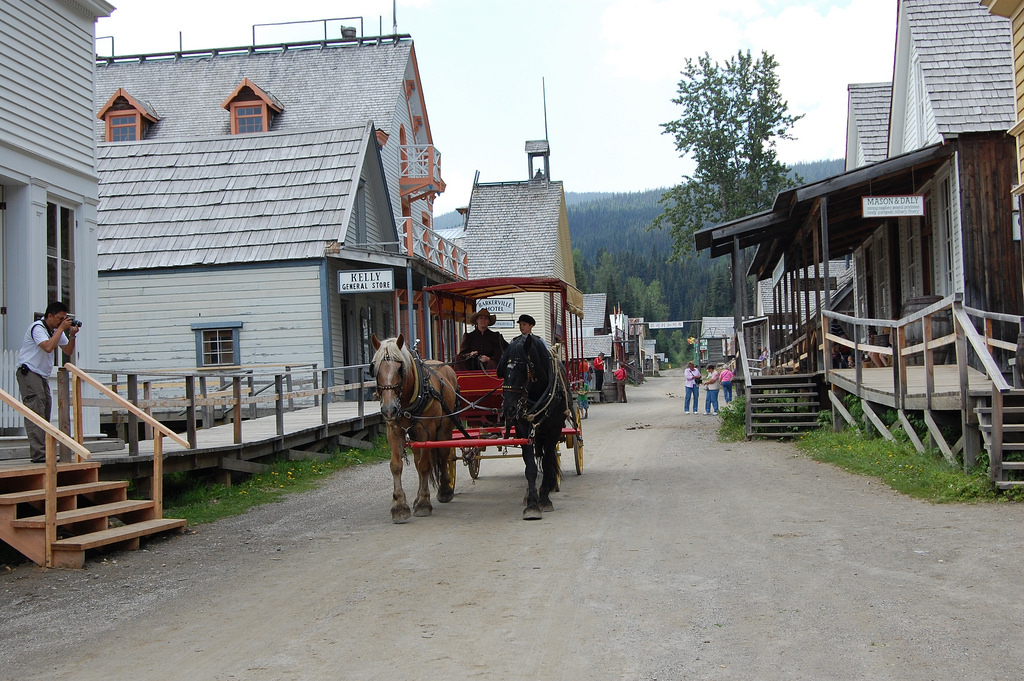 Courtesy of Flickr - Barkerville - the end of the Cariboo Wagon Road and Gold Rush Trail