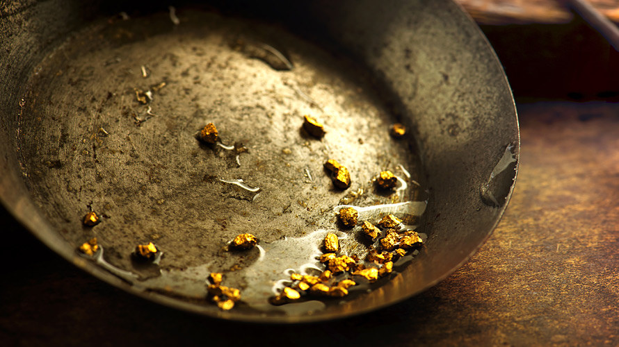 Gold Panning - Photo courtesy of Flickr ChrisAGIS