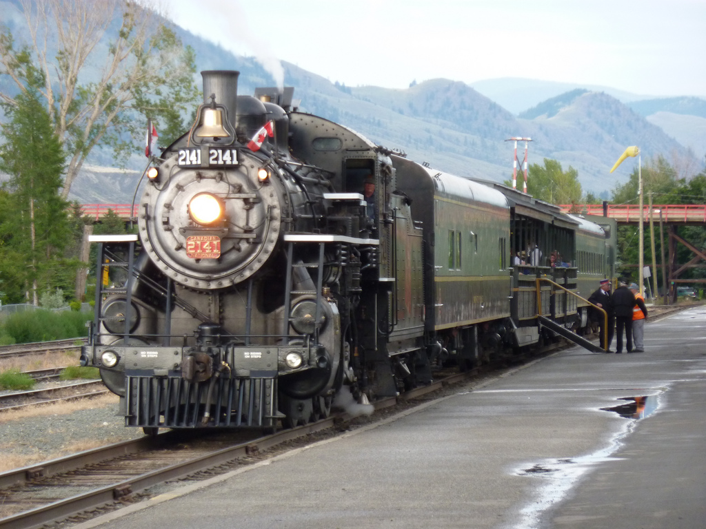 Kamloops Heritage Railway. Photo by Andrew Bowden/Flickr