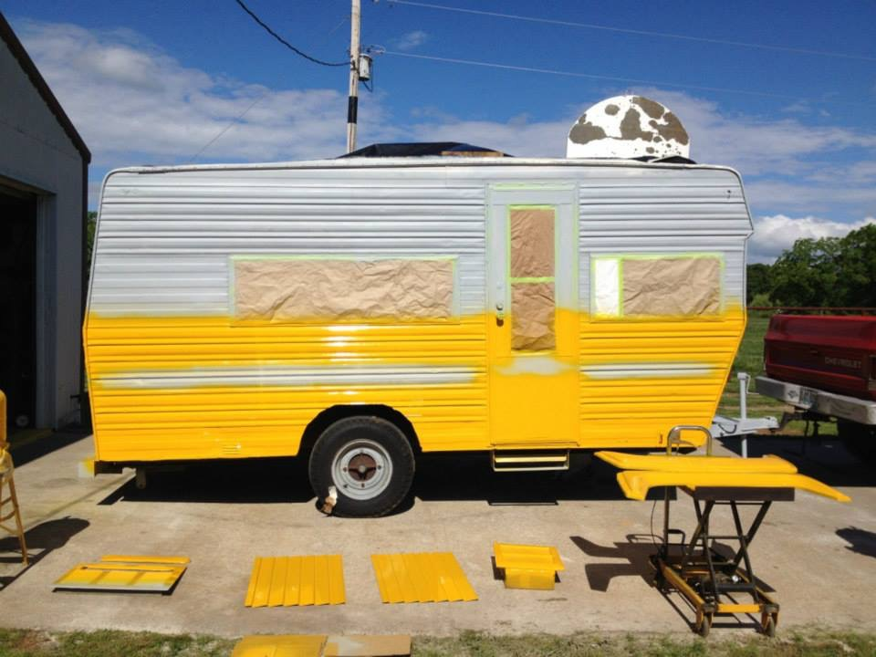 Restoration Of A Vintage Travel Trailer With Photos