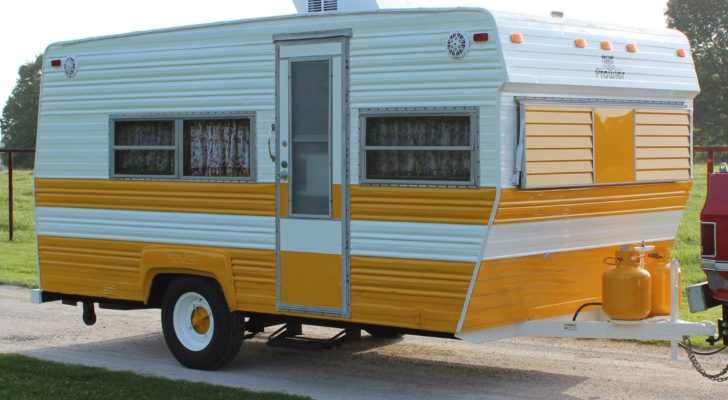 See Inside This Restored 1973 Prowler Camper