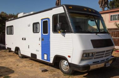 Get A Look Inside This Unique Chevy Winnebago