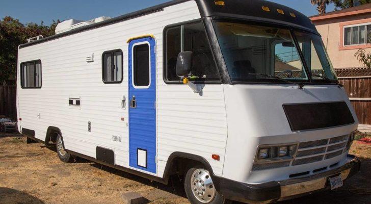 Get A Look Inside This Unique Chevy Winnebago