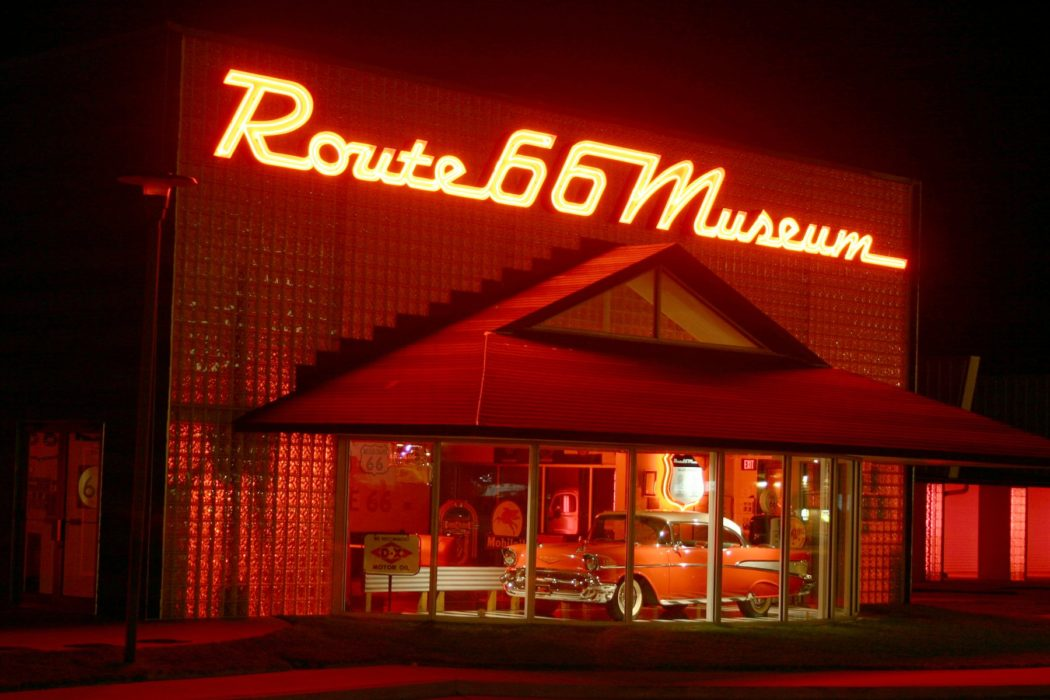 Route 66 Museum. Photo via Facebook