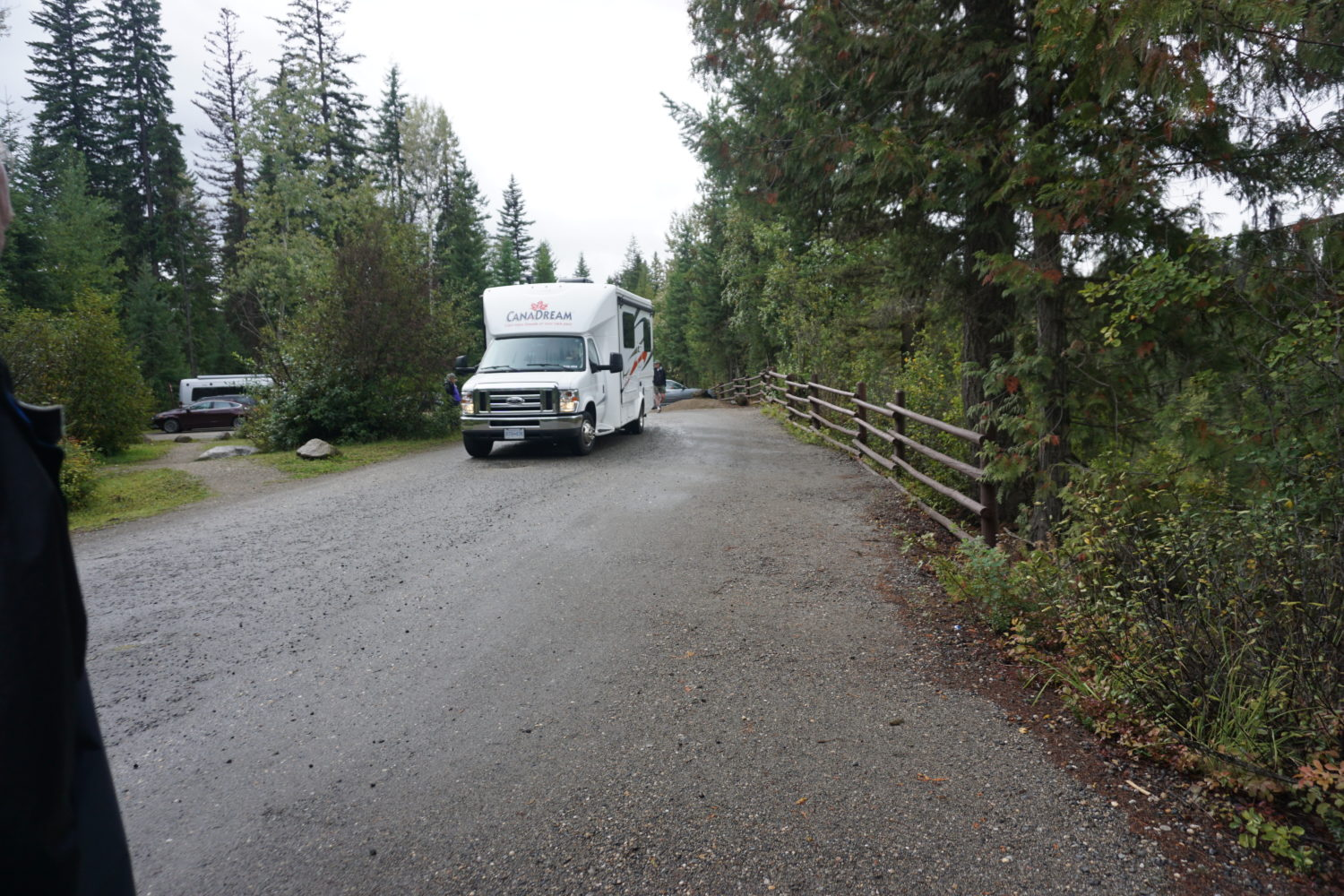 Camping at Wells Gray