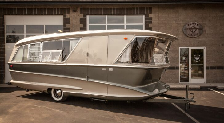 A Look Inside The Rare 1961 Holiday House Geographic Trailer