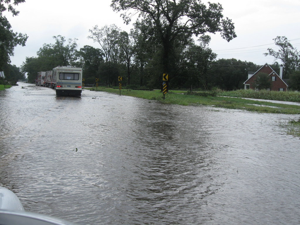 Be prepared for floods. Photo via firstassemblymattoon