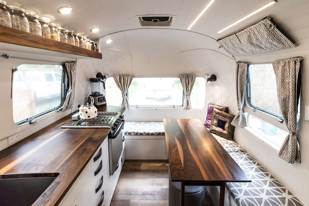 Vintage Airstream Restoration Company In British Columbia