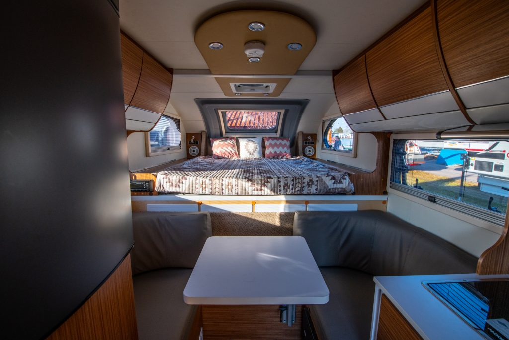 Cirrus 670 Truck Camper Photos And Video Tour By Nucamp Rv