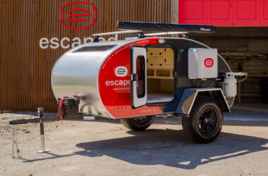 The New Escapod Teardrop Trailers Will Take You Off-Road