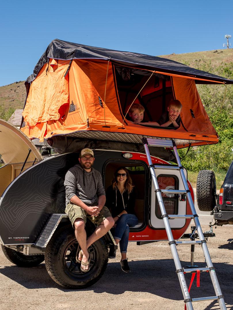 Solar Roof Cost >> Teardrop Trailers Near Salt Lake City, Utah: Escapod Trailers