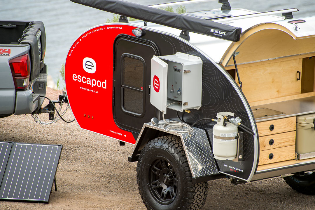 Teardrop Trailers Near Salt Lake City Utah Escapod Trailers