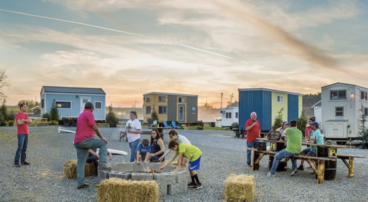 Search For RV Parking On A Tiny House Website
