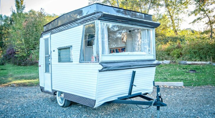 See Inside This Rare 1963 Field & Stream Travel Trailer