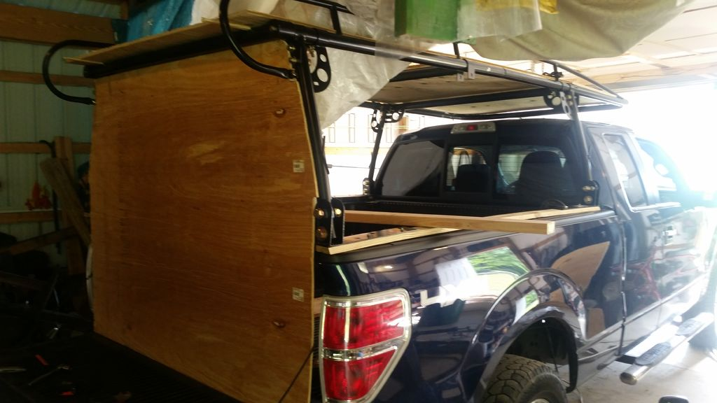 Truck Camper Diy How To Build A Truck Camper With A Pop Top Roof