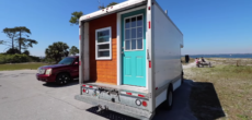 This Former U-Haul Truck Was Turned Into A Cozy Tiny Home-On-Wheels
