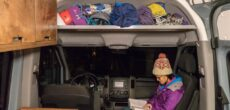 Add More Space In Your Sprinter Van With A DIY Headliner Shelf