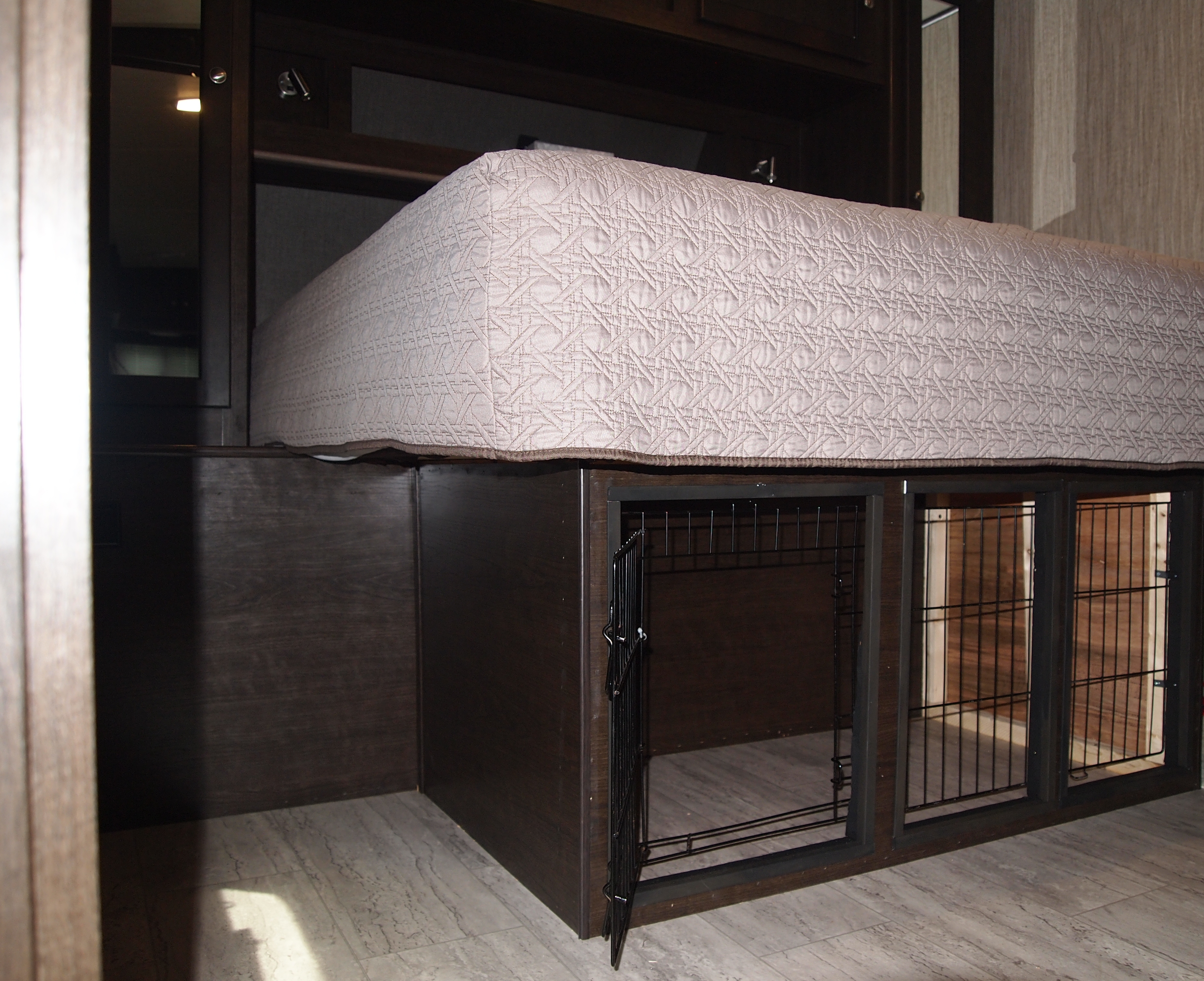 Dog Kennel Under Your Rv Bed