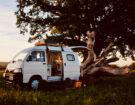 Get A Look Inside This Rustic Converted Camper Van