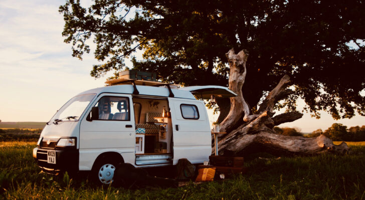 Get A Look Inside This Rustic Converted Camper Van