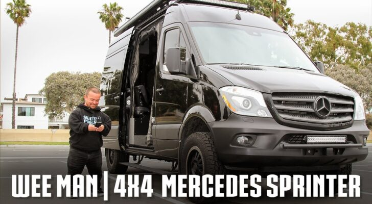 Wee Man From 'Jackass' Gives A Look Inside His Sprinter Van
