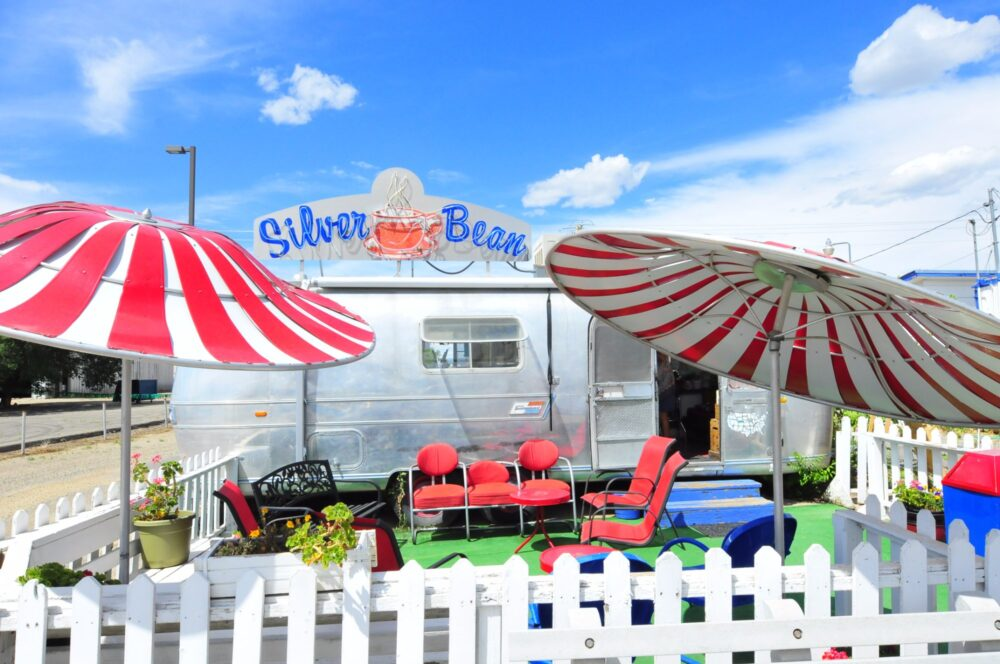 Silver Bean is based out of an Airstream. Photo via TripAdvisor