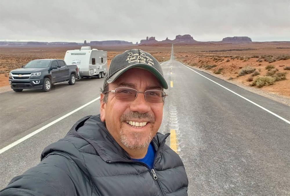 Traveling Robert