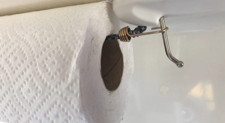 Build A $5 Paper Towel Holder In About 5 Minutes