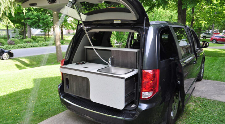 Turn Your Minivan Into A Camper With These DIY Kits