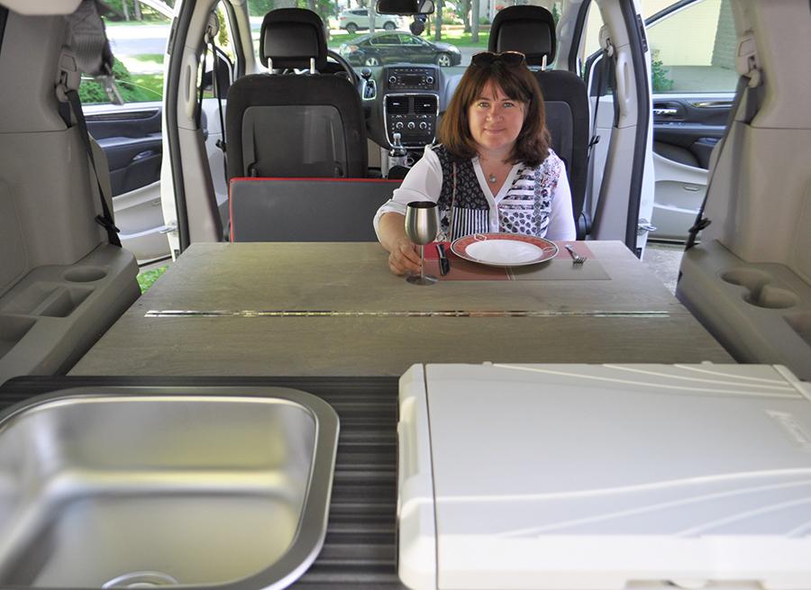 DIY Camper Kit For Minivan And Honda Element SUVs