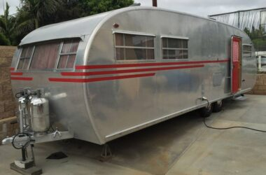 This Vintage 1950 Spartan Travel Trailer Was Restored Beautifully