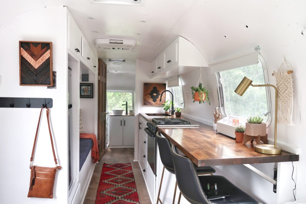 Airstream Renovation By Drivin Vibin: Photos Video Tour