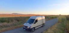 These Mountain Bike Racers Converted A Sprinter Van For Work & Comfort