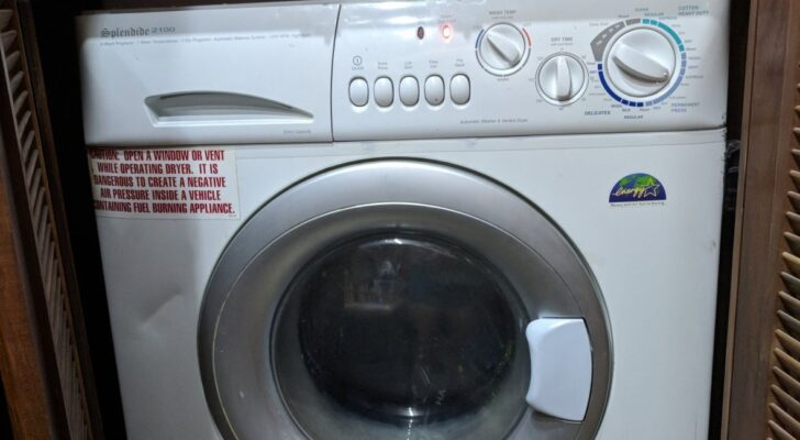 The Pros And Cons Of Adding A Washer & Dryer To Your RV