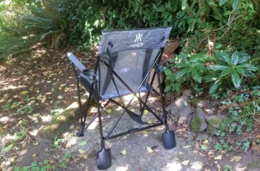 Relax By The Campfire In The New Portable Rok-It Chair