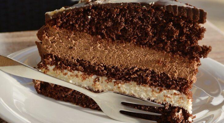 Cake while camping