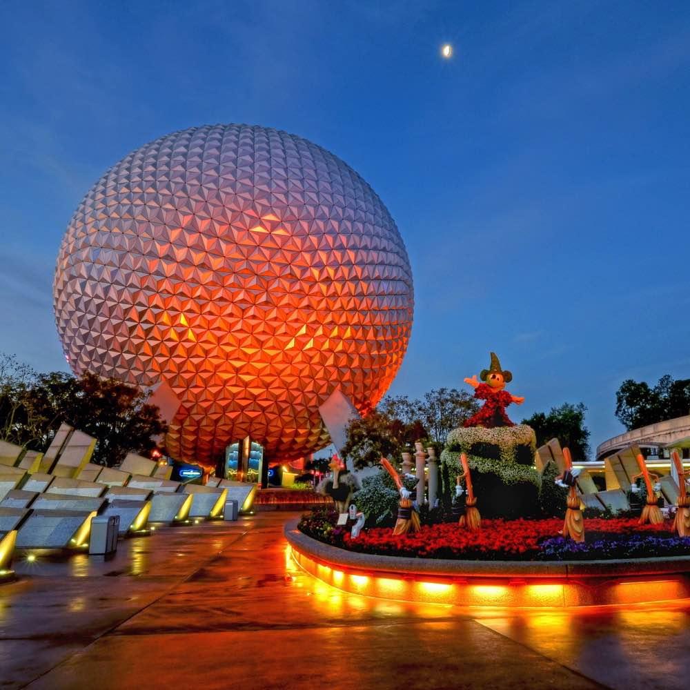Empty Disney World