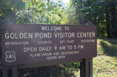 Golden Pond sign