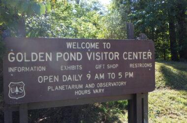Golden Pond sign