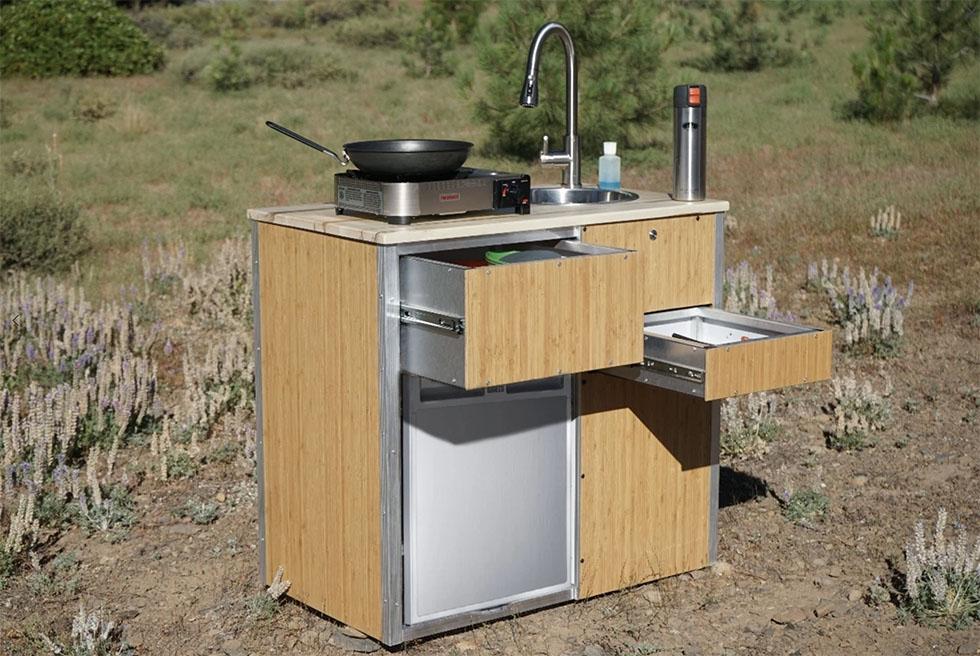 Diy Kitchen Pod For Camper Van Conversions