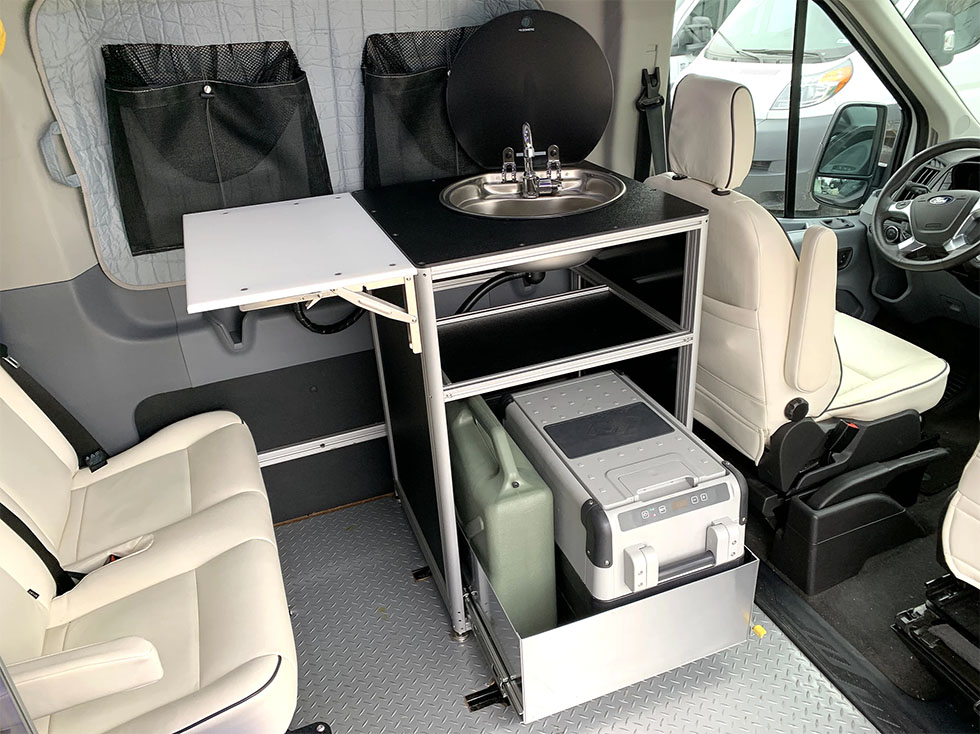 DIY Kitchen Pod For Camper Van Conversions - Do It Yourself RV