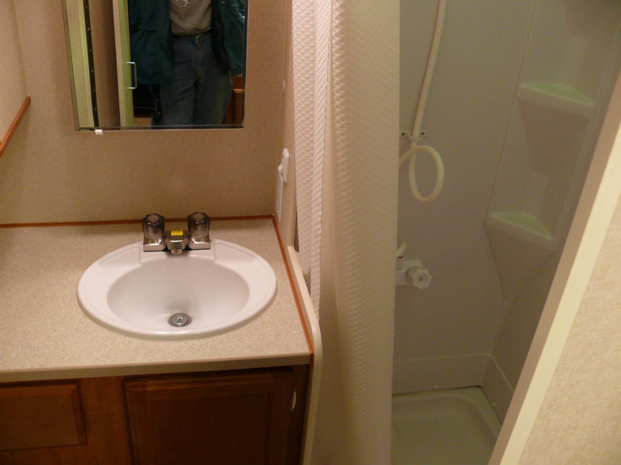 Deep cleaning the RV bathroom