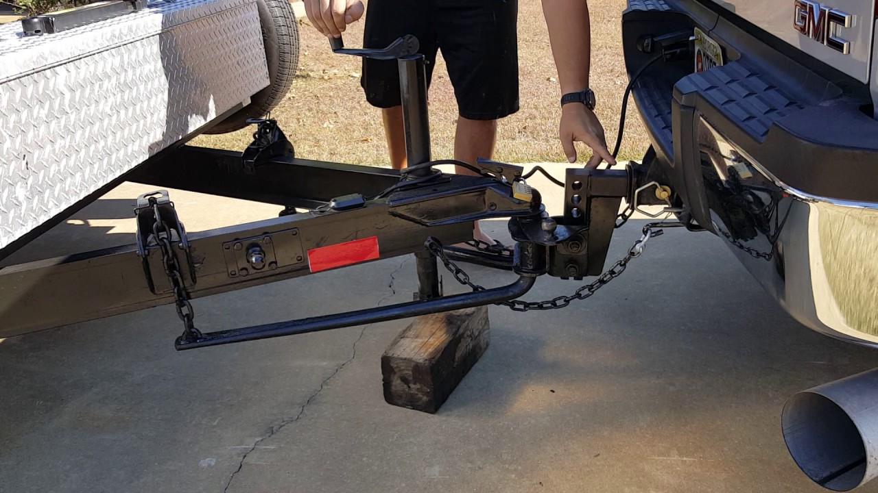 An equalizer hitch is worth the investment. Photo via Youtube
