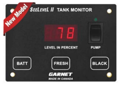 This Garnet 709-2P SeeLevel II 2 Tank Monitoring System is just one of the thousands of parts available at RVupgrades.com